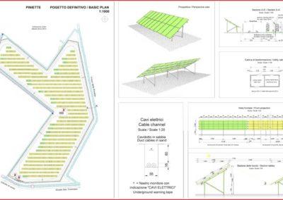 Centrale solare fotovoltaica Piniette