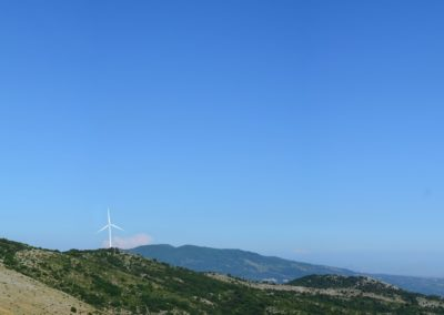 Parco eolico Vallaurea