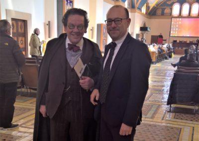 Assisi con Prof. Philippe Daverio