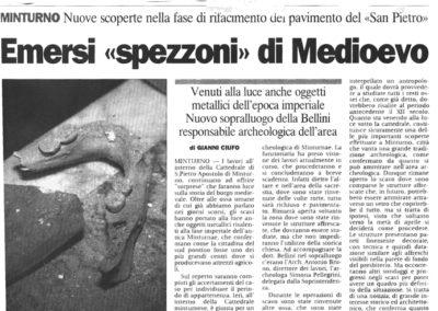 San Pietro - ritrovamento ossa 2